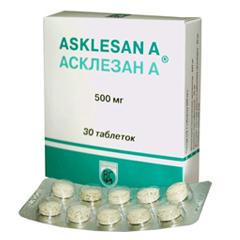 Асклезан инструкция по применению таблетки