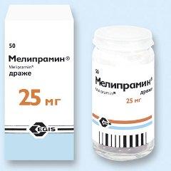 Мелипрамин инструкция по применению таблетки