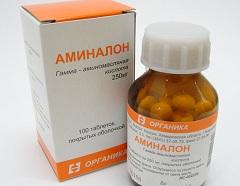 лекарство аминалон инструкция