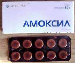 инструкция таблеток амоксил