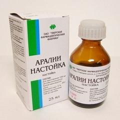 Настойка Аралия Маньчжурская Инструкция По Применению - фото 3