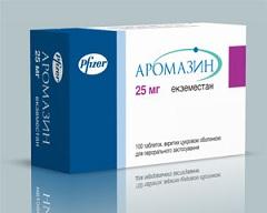 Таблетки, покрытые сахарной оболочкой, Аромазин