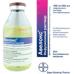 Раствор для инфузий Авелокс