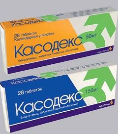 Таблетки Касодекс