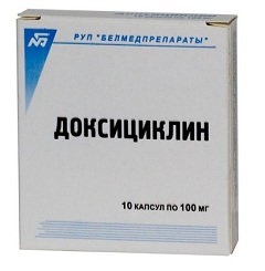 доксициклин фото цена таблетки