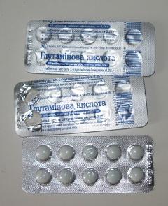 глутаминовая кислота таблетки инструкция по применению