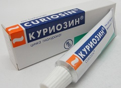 Гель для наружного применения Куриозин