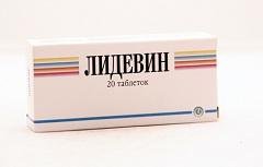 Таблетки Лидевин