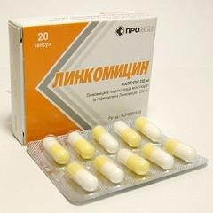 инструкция таблеток линкомицин