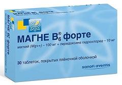 витамин в6 таблетки инструкция по применению