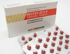 лекарство вессел дуэ ф инструкция по применению цена
