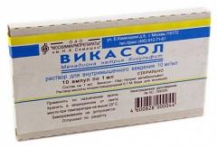 викасол инструкция по применению таблетки при месячных - фото 4