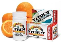 Таблетки Витрум