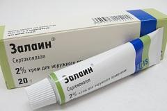 Крем для наружного применения Залаин