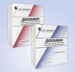 Концентрат для приготовления раствора для инфузий Допамин