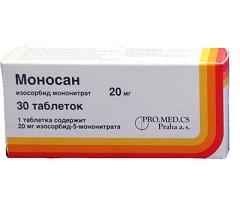 Моносан инструкция по применению таблетки