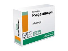 Антибиотик рифампицин инструкция