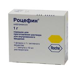 роцефин антибиотик инструкция