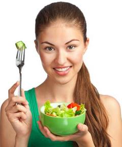 здоровый образ питания меню