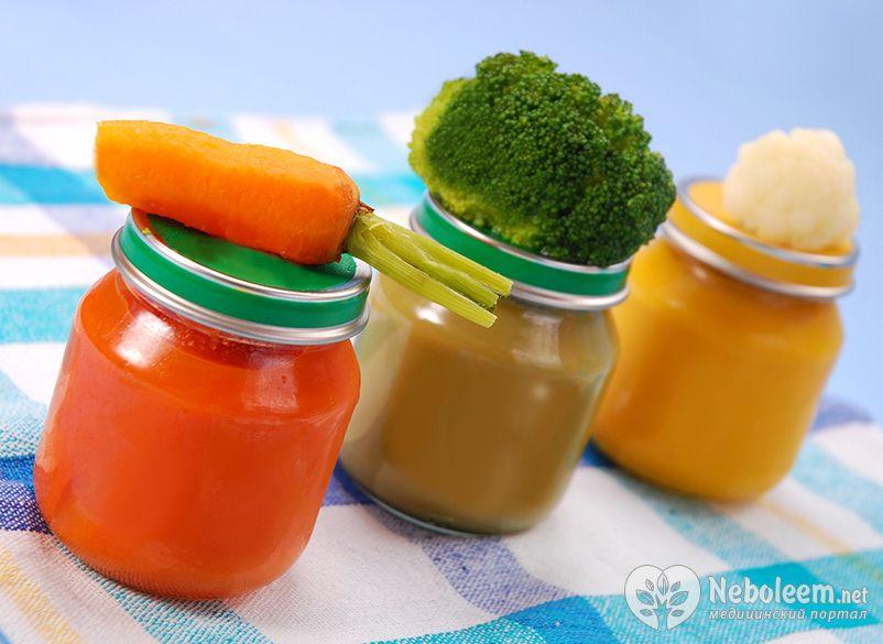 Прикорм овощное пюре в домашних условиях