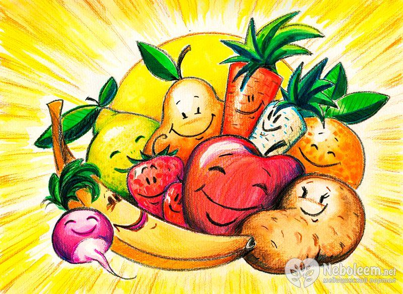 в для детей картинках витамины