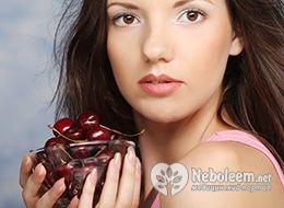 Скільки калорій в черешні різних сортів