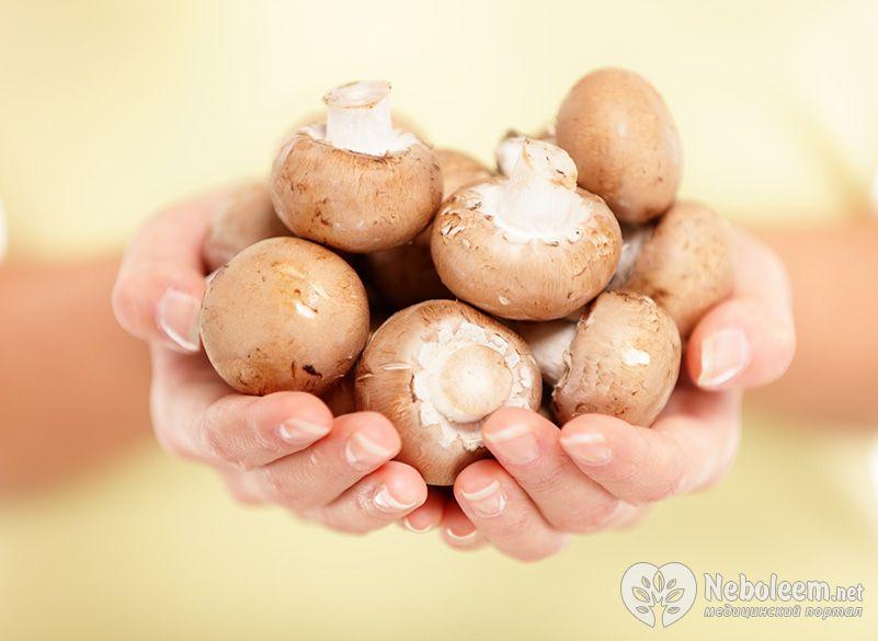 сколько в жареных грибах калорий