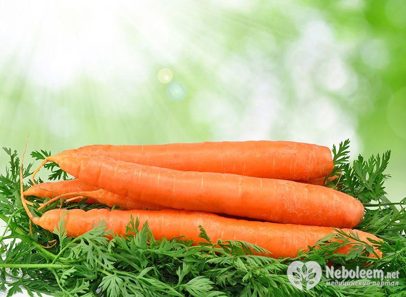 Сырая морковь калорийность на грамм