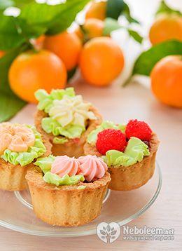 Калорийность пирожных