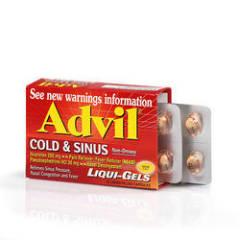 advil американские таблетки инструкция sinus
