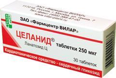 целанид инструкция по применению таблетки
