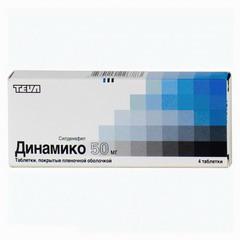 Таблетки, покрытые пленочной оболочкой, Динамико