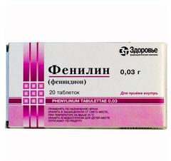 препарат фенилин инструкция
