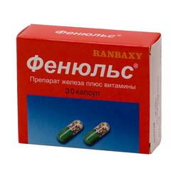 лекарство фенюльс инструкция цена