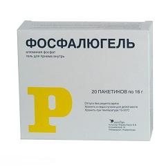 Антацидный препарат Фосфалюгель