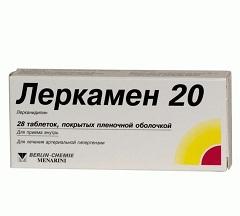 Леркамен 5 мг инструкция по применению