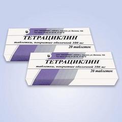 тетрациклин дозировка лекарство от поноса у телят