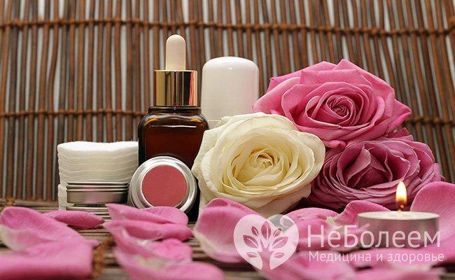 Декоративная косметика польза или вред