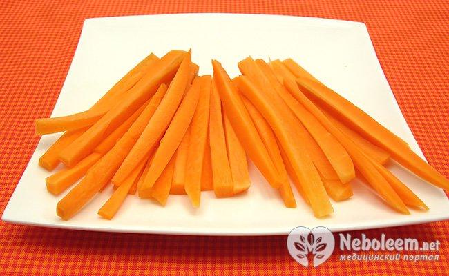 склад моркви