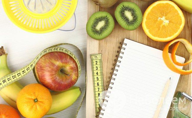 режим питания для похудения на 10 кг