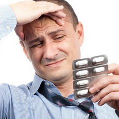 Головные боль с похмелья