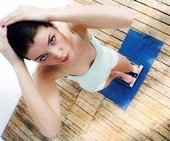 Похудевшая девушка подросток