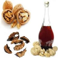Спиртовая настойка грецкого ореха — эффективное средство от чрезмерной потливости