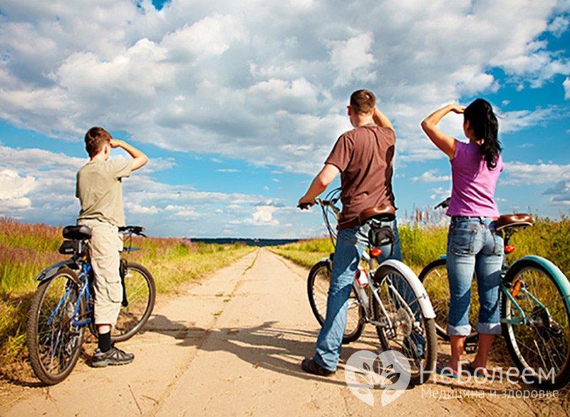 Кало�ии и вело�ипед