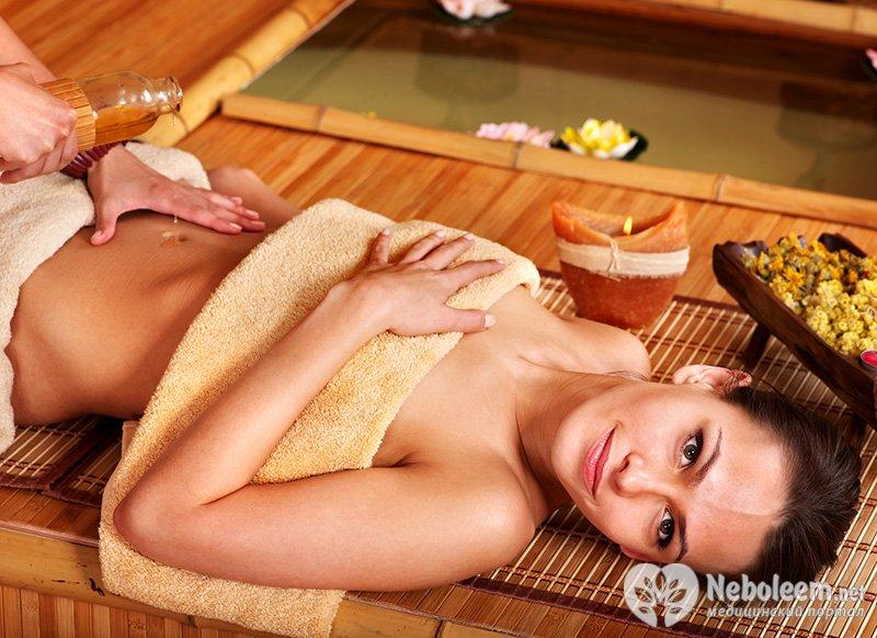 массаж живота убрать внутрикожный жир