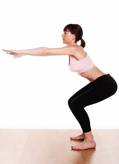 Как похудеть при больных коленях