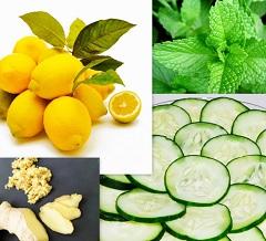 Вода Сассо для схуднення - напій на основі огірків, лимона, м'яти і імбиру
