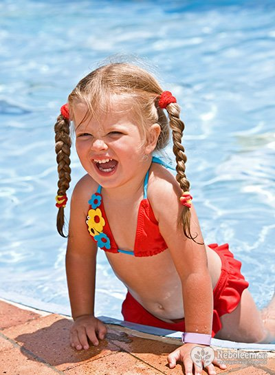 в бассейне фото детей
