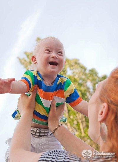 Раннее развитие детей с отклонениями