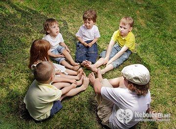 Формирование восприятие цвета детьми